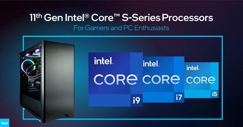 Intel 11th Gen Core S-series desktop processors
